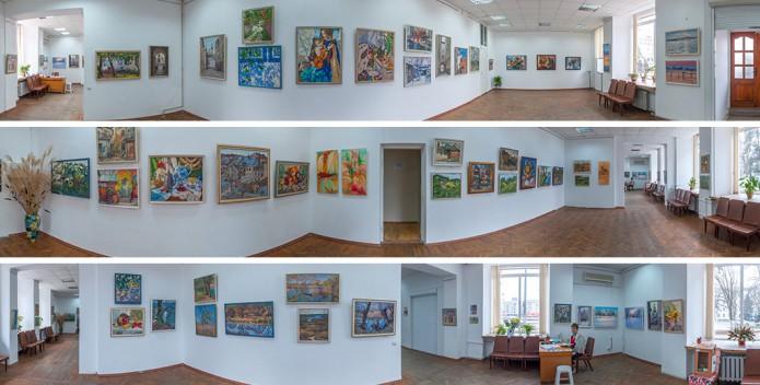 Выставка Оксаны Оснач. Виртуальный тур