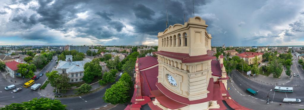 панорама Херсона, художественный музей