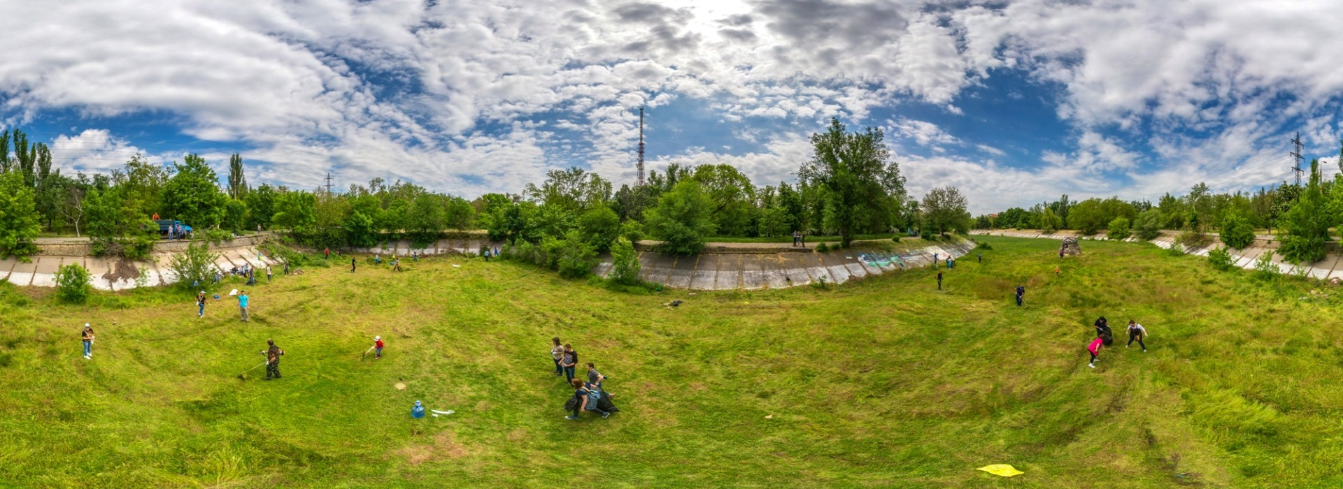 Восстановим Лебединое озеро!