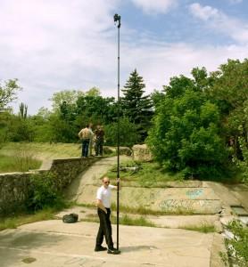 съемка панорам с шеста