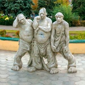 Три козака из Голой Пристани