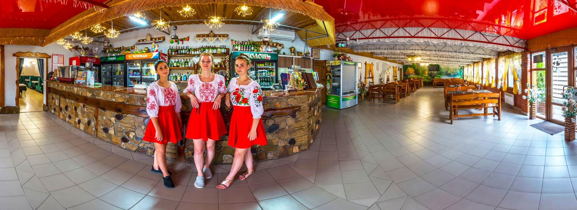 Кафе Українська Хата, Хорлы